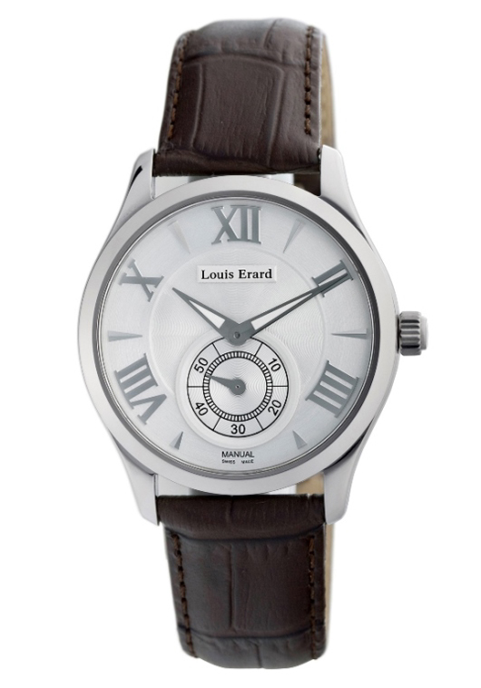Louis Erard Mens 47207AA21.BDCL21 - 1931 Silver Dial Manual Watch